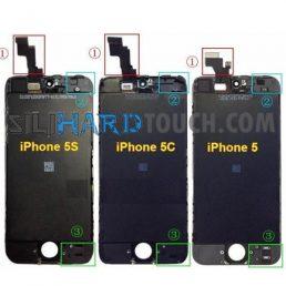 diferencia iphone 5 5s 5c