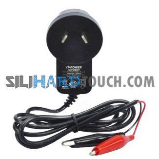 Cargador de bateria 6V 1000mA c/cocodrilo- CAR61000