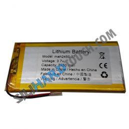 bateria 2450 mAh