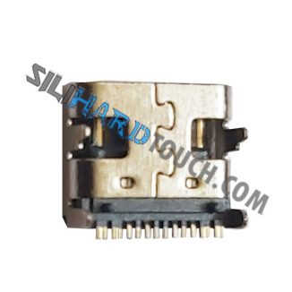 Pack X5 Pin Carga Jack Usb Tipo C Positivo Bgh Wise 2 En 1